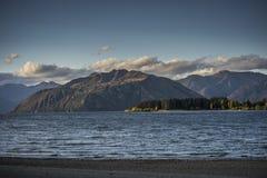 Lago Wanaka Fotografía de archivo