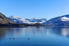 Lago Wanaka, ilha sul Nova Zelândia Fotografia de Stock Royalty Free