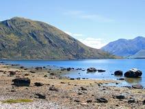 Lago Wanaka, Nova Zelândia Imagens de Stock