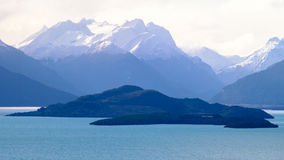 Lago Wanaka, Nueva Zelandia Fotos de archivo