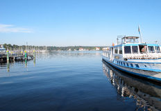 Lago Wannsee a Berlino, Germania immagini stock libere da diritti
