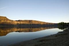 Lago Washington banks Fotografia Stock Libera da Diritti