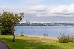 Lago Washington Seattle Imagen de archivo