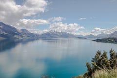 Lago Watatipu fotografía de archivo libre de regalías