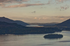 Lago water de Derwent Fotos de Stock Royalty Free