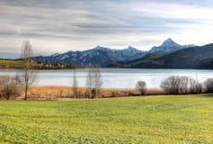 Lago WeiÃensee. Fotografia Stock