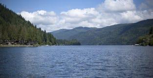 Lago Whatcom Fotografia Stock