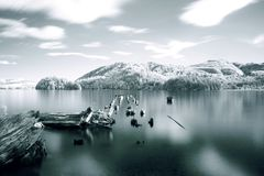 Lago Whatcom, Bellingham, Washington State fotografia de stock