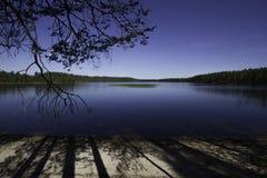 Lago wilderness Imagen de archivo