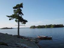 Lago wilderness Fotografía de archivo
