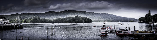 Lago Windermere Fotografie Stock Libere da Diritti