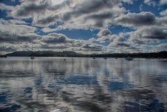 Lago 6 Windermere Immagine Stock Libera da Diritti