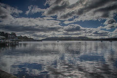 Lago 5 Windermere Fotografia Stock Libera da Diritti