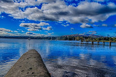 Lago 4 Windermere Fotografie Stock Libere da Diritti