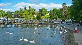 Lago Windermere: Parque nacional Fotografía de archivo libre de regalías