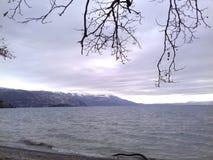Lago winter Immagini Stock Libere da Diritti