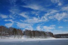 Lago 1 winter Immagine Stock Libera da Diritti