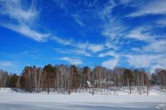 Lago 2 winter Immagini Stock Libere da Diritti