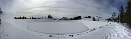 Lago winter Fotografia de Stock Royalty Free