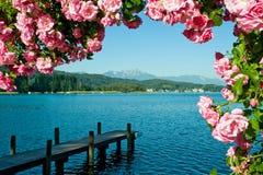 Lago Woerther Foto de archivo