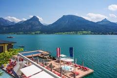 Lago Wolfgangsee Immagini Stock Libere da Diritti