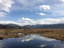 Lago wonderland immagini stock
