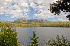Lago Wrights escénico Fotos de archivo libres de regalías