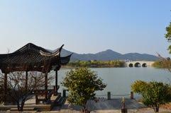 Lago XiangHu Fotografia de Stock Royalty Free