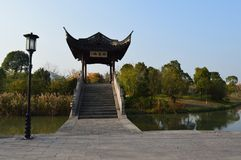 Lago XiangHu Imagenes de archivo