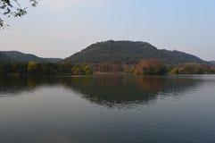 Lago XiangHu Imágenes de archivo libres de regalías