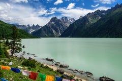 Lago Xinluhai Fotografía de archivo libre de regalías