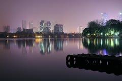 Lago Xuanwu Foto de archivo libre de regalías