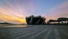 Lago Xuzhou Yunlong Fotografia Stock