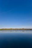 Lago y cielo 2 Imagen de archivo