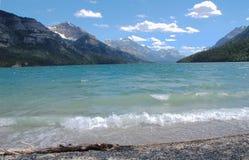 Lago y cielo Foto de archivo libre de regalías