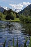 Lago y montañas Fotografía de archivo libre de regalías