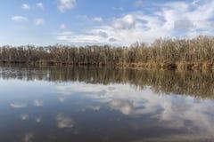 Lago y reflexión Fotografía de archivo