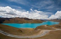 Lago Yamdrok Imagem de Stock