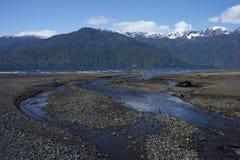 Lago Yelcho Foto de archivo libre de regalías