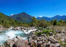 Lago Yelcho (Yelcho Lake), Patagonia, Chile Royalty Free Stock Image