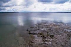 Lago Yellowstone fotografia stock libera da diritti
