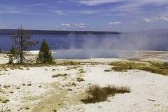 Lago Yellowstone Imagenes de archivo