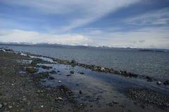 Lago Yellowstone fotos de stock royalty free