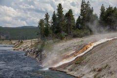 Lago Yellowstone Imagen de archivo libre de regalías