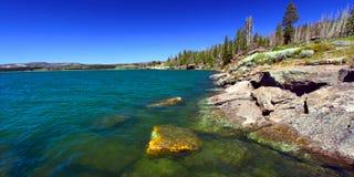 Lago Yellowstone em Wyoming Imagem de Stock