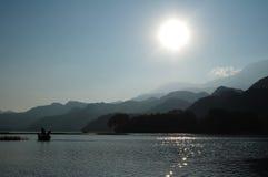 Lago Yojoa em Hoduras fotografia de stock