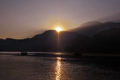 Lago Yojoa en Hoduras Fotos de archivo libres de regalías