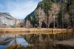 Lago Yosemite Immagini Stock