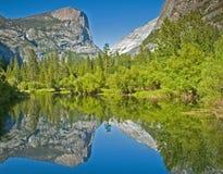 Lago Yosemite mirror Immagine Stock Libera da Diritti