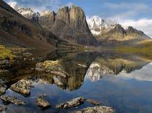 Lago Yukon divide Fotografía de archivo
